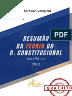 -Resumo Teorias Do Direito Constitucional - Nota 11