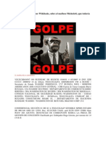 Documento filtrado por Wikileaks