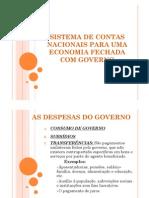 SCN para uma Economia Fechada e Com Governo(2)