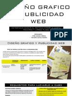 DISEÑO GRAFICO Y PUBLICIDAD WEB .