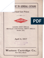 Каталог фирмы Western Cartridge Co.-1917 (США) (оф)