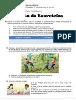 Lista de Exercícios - Leis de Newton