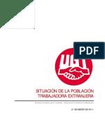 UGT publica un informe sobre la población trabajadora extranjera en España con motivo del Día Internacional para la eliminación de la discriminación racial