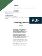 Alphonsus de Guimar¦es - Poemas