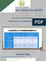 CONOCIMIENTOS PEDAGÓGICOS 7 evaluación ret