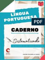 Caderno de Língua Portuguesa Por Simone Pavanello Muniz Myra Editora