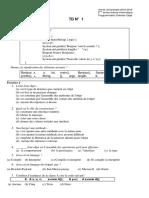 Corrigé TD 01 Module POO univ Tlemcen Promo 2018-2019