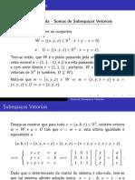 Notas de aula - Subespaços vetoriais (soma)