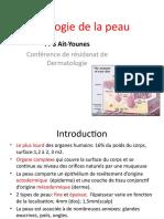 Histologie de La Peau