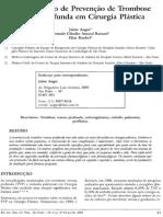 Protocolo Meia Compressiva Plástica