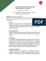 DEFINICIONES Y APLICACIONES DE LA BIOFARMACIA Y FARMACOCINÉTICA