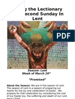Living the Lectionary - Second Sunday in Lent