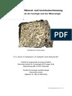 Mineral- Und Gesteinsbestimmung (Stosch, Hollerbach, Eckhardt, Kleinschrodt, 11MB)