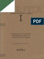 Escrituras Estructuras Aproximaciones En