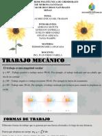 GRUPO_8  FORMAS MECÁNICAS DEL TRABAJO