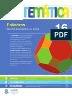 16 - Matemática - Poliedros