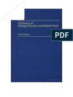 Dictionary of Mining, Mineral, & Related Terms_0922152365