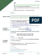 Resumo_Sistemas lineares