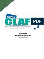 TEMA 05 - FILOSOFÍA PERUANA