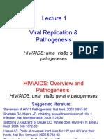 HIV replicação e patogenese