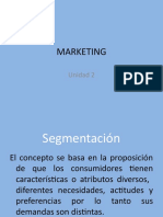 Marketing Unidad 2 - 2019