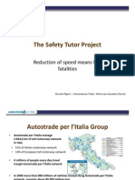 Presentation Safety Tutor of radar Italia