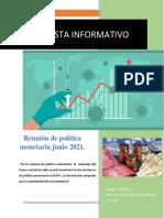 Noticia Proyección Macroeconómica - EQUIPO