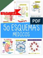 50 Esquemas Médicos de Regalo