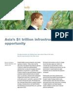 McKinsey_Asia 1 trillion Infra Opport march2011