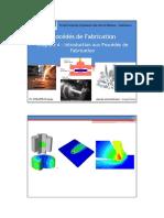 Chapitre 4-Introduction aux Procédés de Fabrication