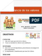 Charla de Los Valores (Empresas)