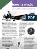 Homenagem às Mulheres da Aviação