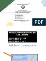 REGLAS ORTOGRAFICAS