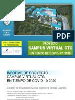 Proyecto de Educación Virtual  CTG