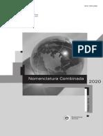 Nomenclatura Combinada 2020
