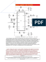 Amplificador - Para Fone com TDA2004