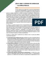 Análisis del artículo sobre la eficiencia de centralizar las compras públicas
