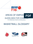British Basketball-Basketball Glossary