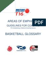 British Basketball-Basketball Glossary