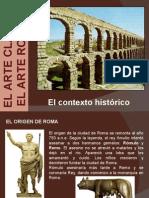 Historia del arte romano