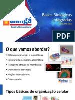 Slides Aula i Bases Biológicas Integradas