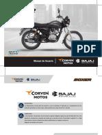 Bajaj - Boxer BM150 - Manual de Usuario - 171109