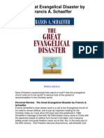 The Great Evangelical Disaster by Francis a Schaeffer - 5 Star Review