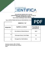 Informe Celula Procariota y Eucariota