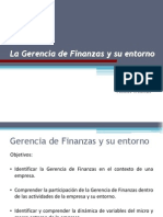 Gerencia de finanzas - 1
