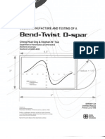 Bend-Twist D-spar