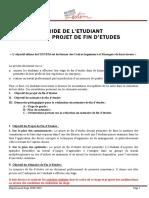 4 Guide Mémoire de Projet de Fin d'Études 2020-2021