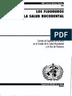 Fluoruros y Salud Bucodental Ginebra 1994 OMS