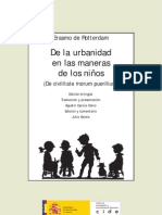 Erasmo De la urbanidad en las maneras