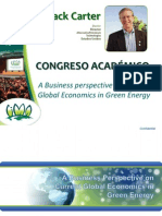 A Business Perspective on Current Global Economics in Green - JACK CARTER